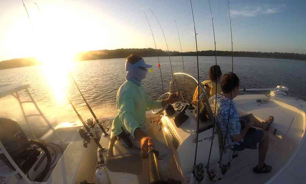 sunrise-fishing-winyah-bay