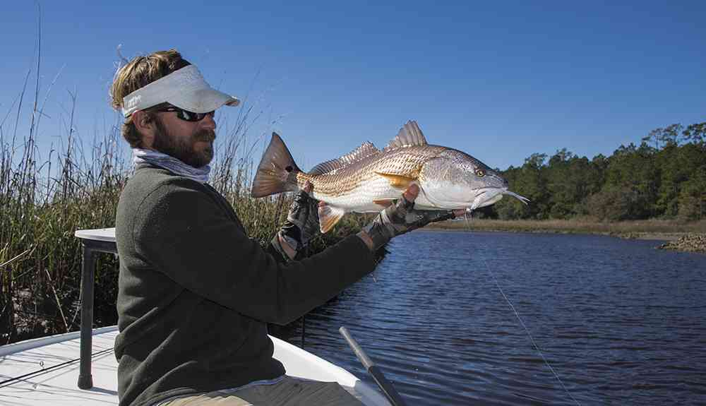 Captain Jordan Pate Pawleys Island Redfish