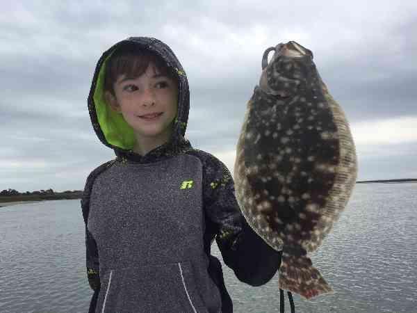 flounder fishing murrells inlet