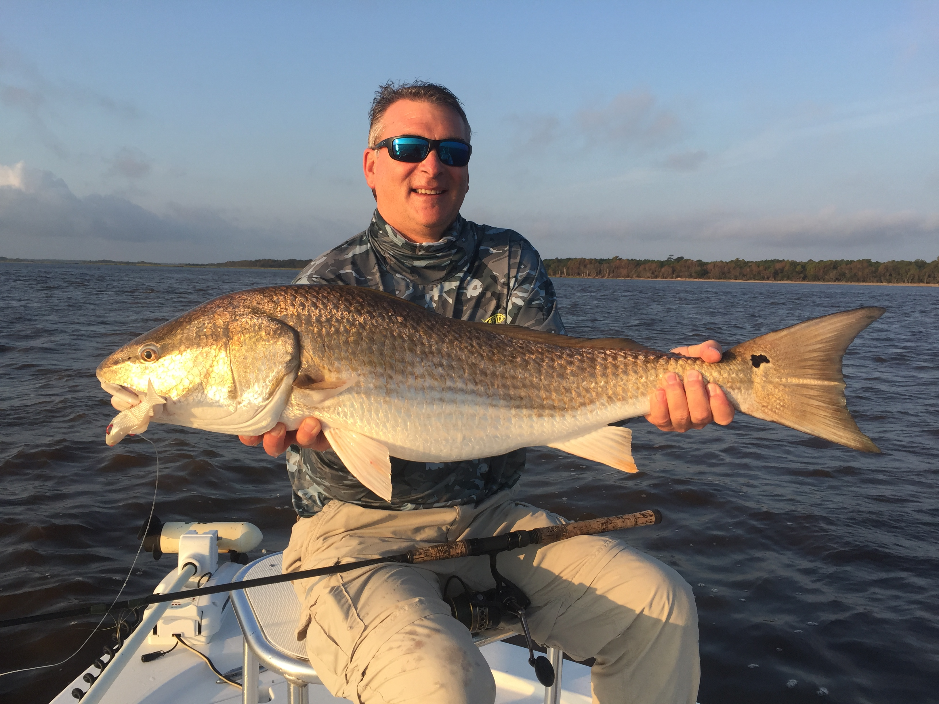 Redfishing in Georgetown South Carolina