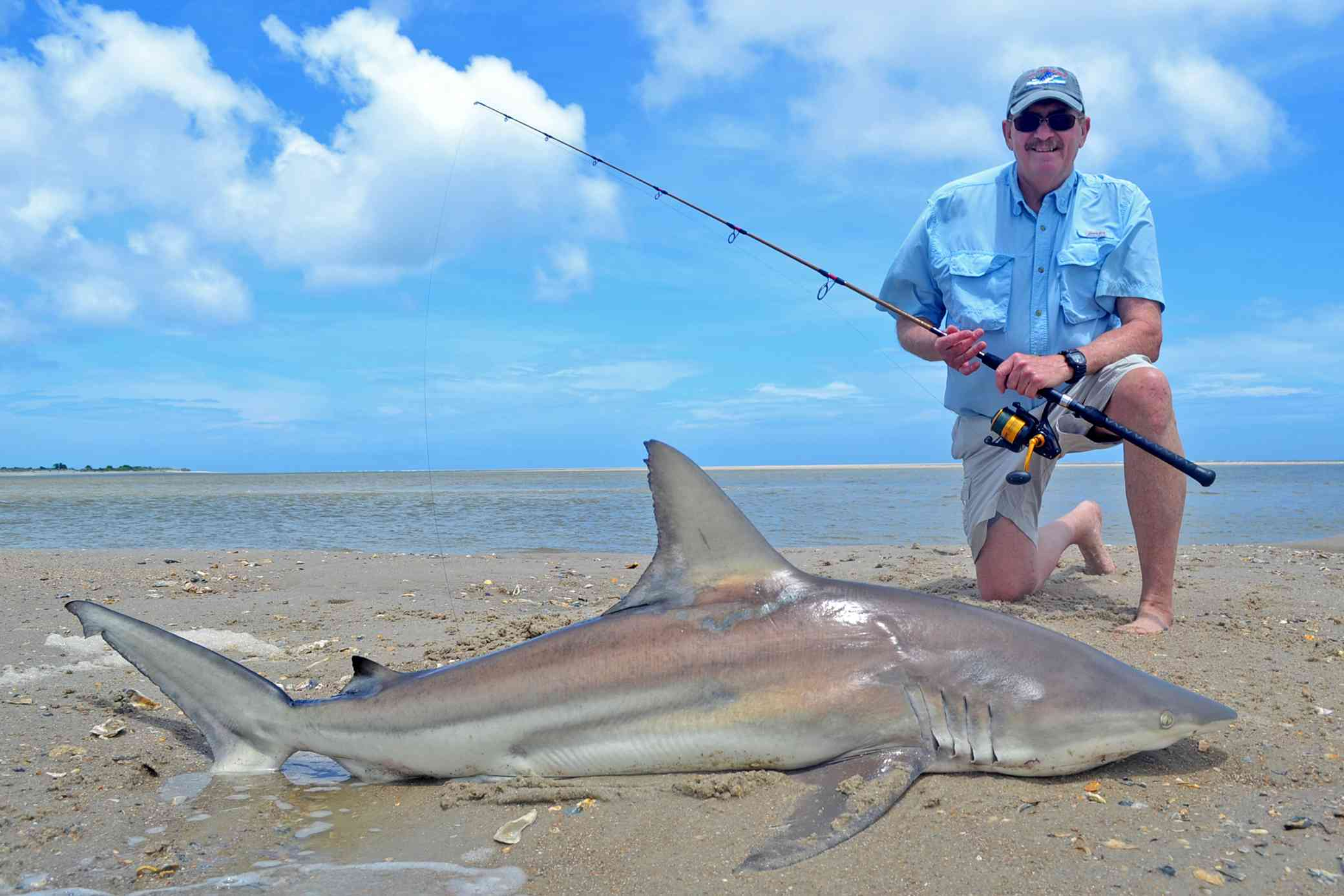 shark fishing south carolina