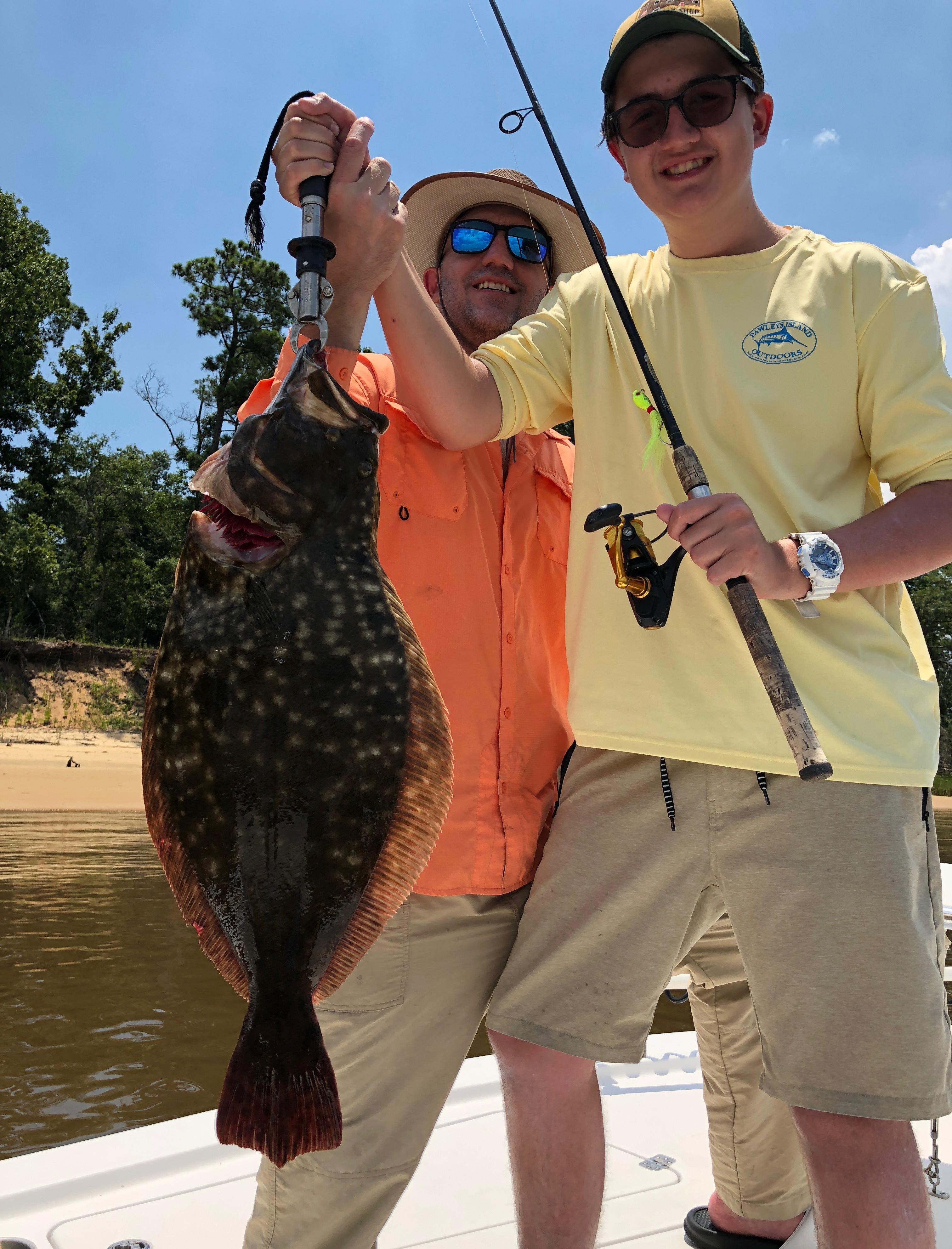 Flounder Fishing South Carolina