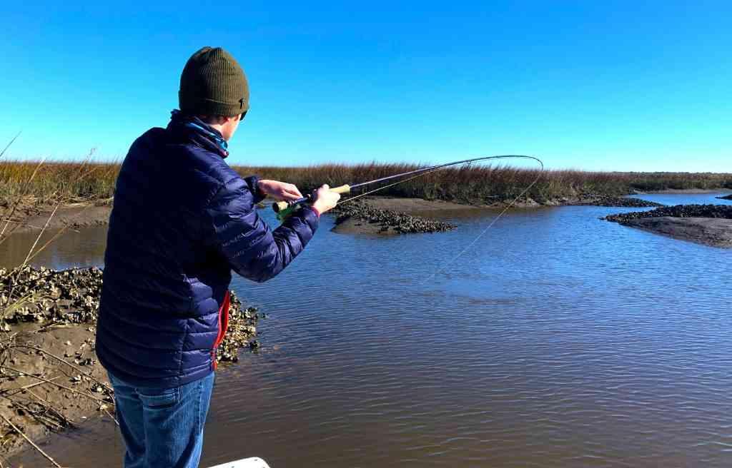 FLy Fishing Captain Jordan Pate