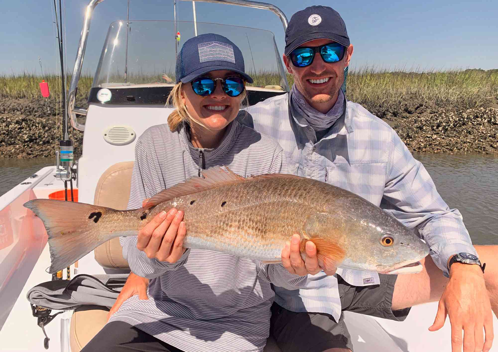 a picture of Spring 2020 Fishing Report - Open for Business with Carolina Guide Service