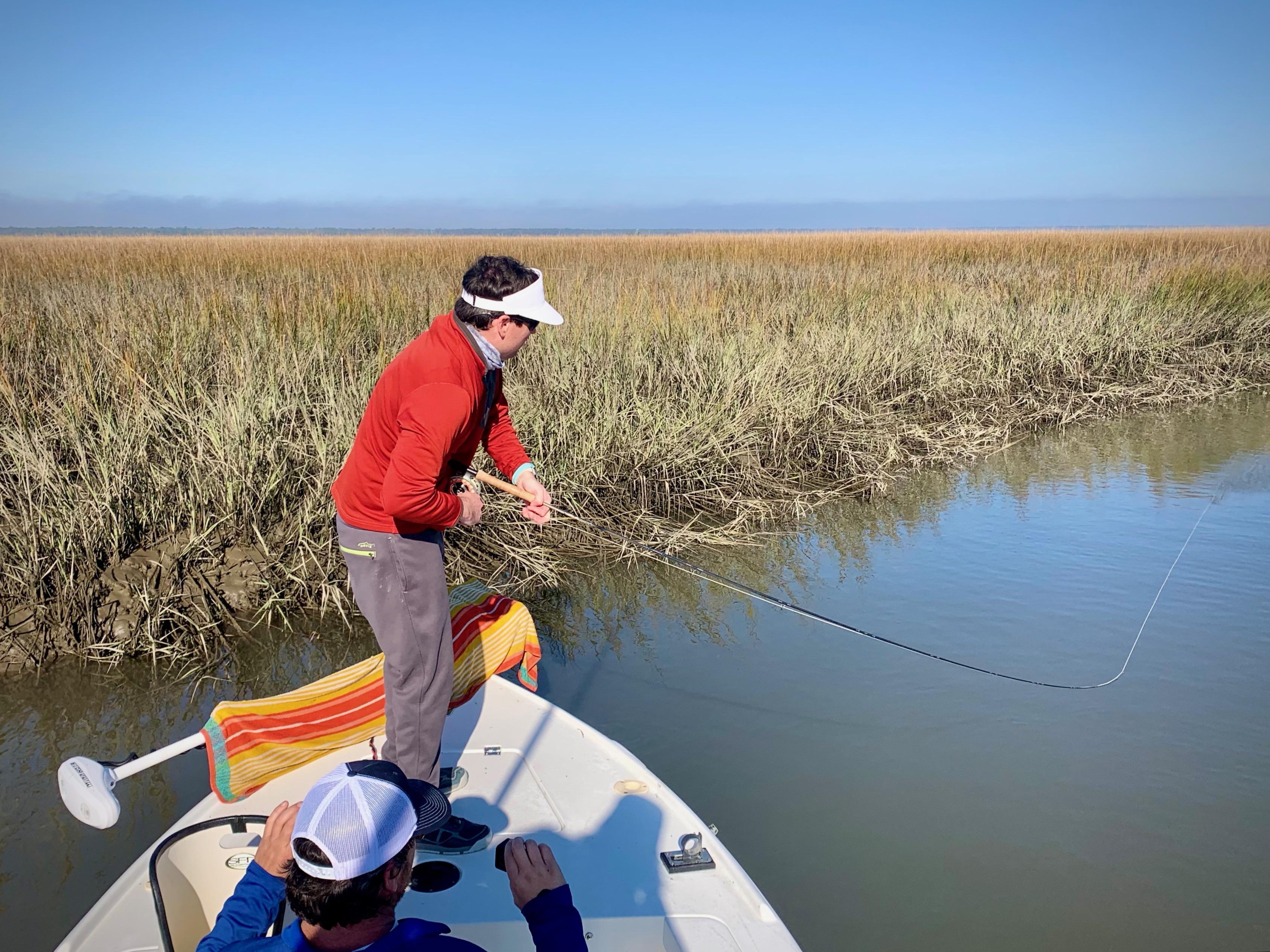 Fly Fishing Guide Redfish South Carolina