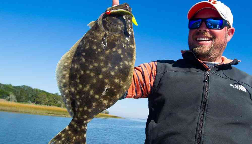 a picture of Flounder with Carolina Guide Service